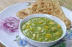 Corn Curry (Green Sauce)